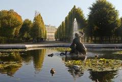 Castillo Schönbrunn, Viena imagen de archivo