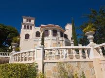 Castillo Serralles dans Ponce Image stock