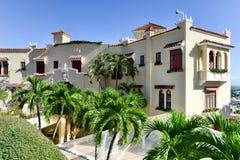 Castillo Serralles dwór - Ponce, Puerto Rico Obraz Stock