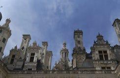 Castillo Shambor en Francia en agosto en 2015 Foto de archivo libre de regalías