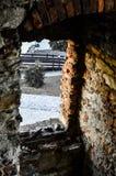 Castillo silesio de Ostrava Imágenes de archivo libres de regalías