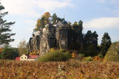 Castillo Sloup imagen de archivo libre de regalías