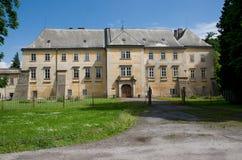 Castillo Smirice, República Checa Imagen de archivo libre de regalías