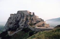 Castillo sobre la colina Imagen de archivo libre de regalías