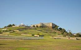 Castillo Sohail in Fuengirola, Spanje royalty-vrije stock afbeelding