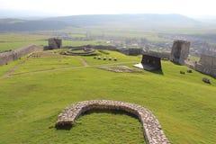 Castillo Spis, Eslovaquia Imagenes de archivo
