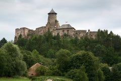 Castillo - Stara Lubovna foto de archivo