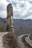 Castillo STARY HRAD, Eslovaquia Fotos de archivo libres de regalías