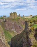 Castillo Stonehaven Escocia del este de Dunnotar Fotografía de archivo