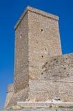 Castillo suabio normando de Deliceto. Puglia. Italia. fotos de archivo
