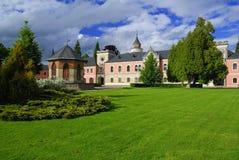 Castillo Sychrov Imagen de archivo libre de regalías