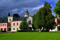 Castillo Sychrov Foto de archivo libre de regalías