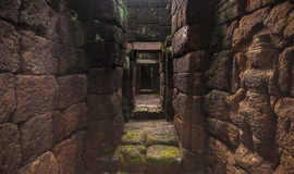 Castillo tailandés antiguo (Prasat Muang Singh) Fotografía de archivo libre de regalías