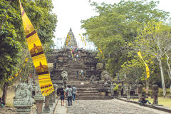 Castillo Tailandia Imágenes de archivo libres de regalías