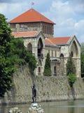 Castillo Tata en Hungría Imagen de archivo