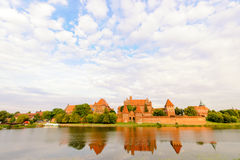 Castillo teutónico de Malbork Fotografía de archivo