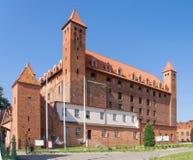 Castillo teutónico en Gniew, Polonia Imagen de archivo