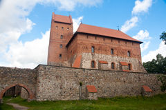 Castillo Trakai Imagenes de archivo