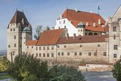 Castillo Trausnitz Imágenes de archivo libres de regalías