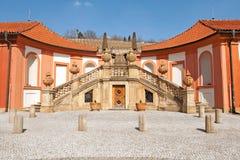 Castillo Troja Imágenes de archivo libres de regalías