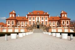 Castillo Troja Fotografía de archivo libre de regalías