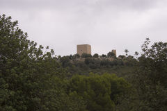 Castillo Ulldecona Imagenes de archivo