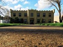 Castillo urbano Imagen de archivo libre de regalías