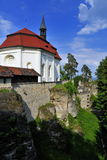 Castillo Valdstejn Imagenes de archivo