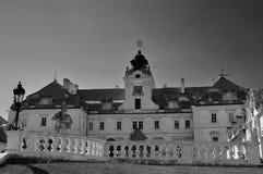 Castillo Valtice Fotos de archivo