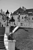 Castillo Valtice Foto de archivo