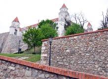 Castillo viejo Bratislava, Eslovaquia, Europa Imagen de archivo