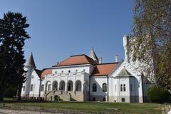 Castillo viejo de la familia de Dundjerski del tradiotinal, Serbia fotografía de archivo