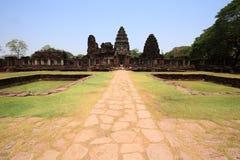 Castillo viejo de la roca en Tailandia Foto de archivo libre de regalías