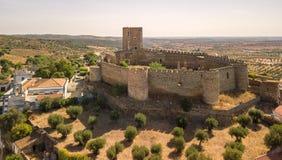 Castillo viejo de Portel, región de Alentejo, Portugal imágenes de archivo libres de regalías