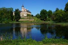 castillo viejo de Radun en la República Checa foto de archivo libre de regalías