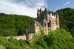 Castillo viejo. El Rin River Valley Imagen de archivo libre de regalías