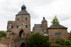 Castillo viejo en Alemania, edificio al aire libre, hystorical Foto de archivo
