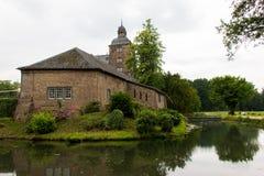 Castillo viejo en Alemania, edificio al aire libre, hystorical Fotografía de archivo