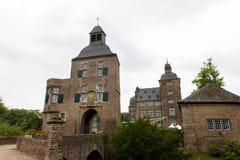 Castillo viejo en Alemania, edificio al aire libre, hystorical Imágenes de archivo libres de regalías