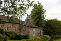 Castillo viejo en Alemania, edificio al aire libre, hystorical Imagen de archivo libre de regalías