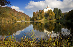 Castillo viejo en Croatia Fotos de archivo libres de regalías