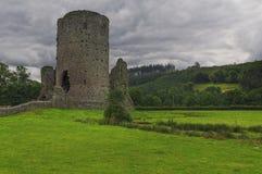 Castillo viejo en País de Gales Imágenes de archivo libres de regalías