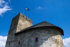 Castillo viejo en Polonia Imagen de archivo
