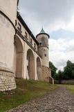 Castillo viejo grande en Polonia Imagen de archivo libre de regalías