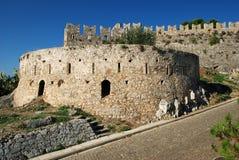 Castillo viejo, Nafplion, Grecia imagen de archivo
