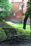 Castillo viejo Nidzica de Polonia Imagenes de archivo