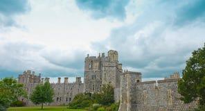 Castillo viejo Windsor en Inglaterra Fotografía de archivo libre de regalías