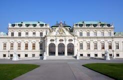 Castillo Viena del belvedere imágenes de archivo libres de regalías