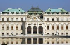 Castillo Viena del belvedere foto de archivo libre de regalías