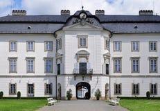 Castillo Vizovice, República Checa imagen de archivo